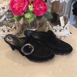 Stewart Weitzman suede shoes